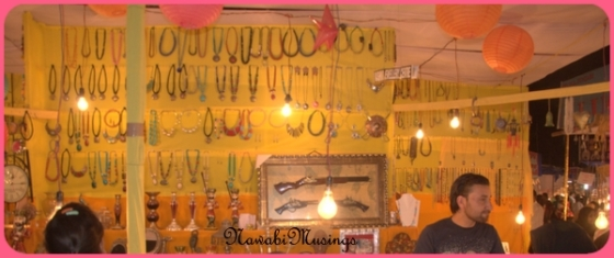 Kashmiri Jewelley stall